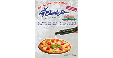"Sponsor Ufficiale Pizzeria ""Charleston"""